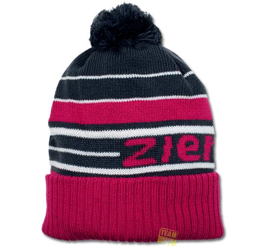 Ziener Wintermütze Skimütze BOMMEL magnet / pop pink