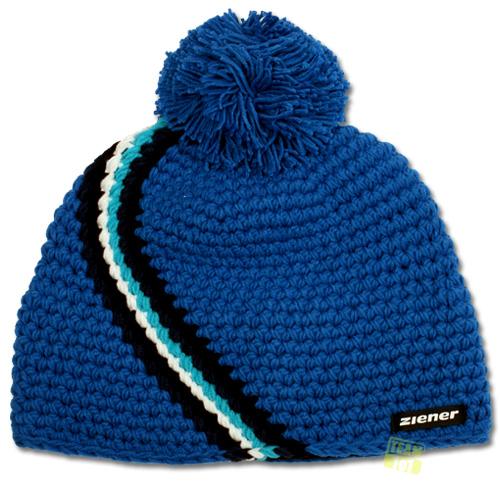 Ziener Wintermütze Skimütze ILINON blau Gr.S/M